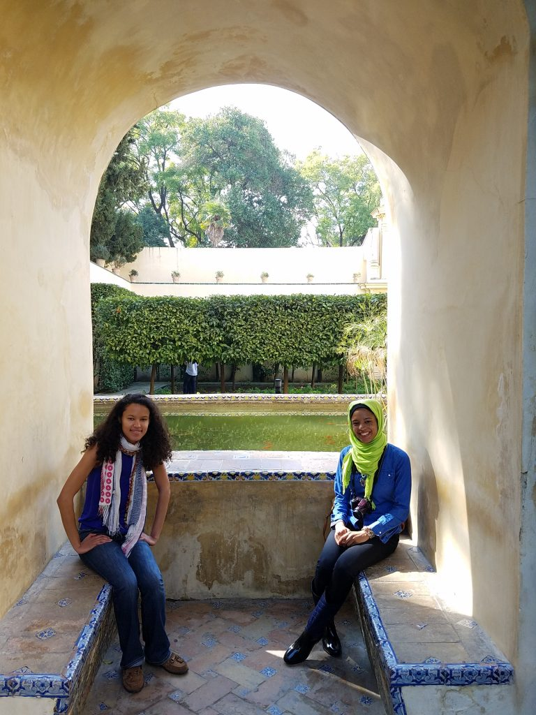 3 day guide to Seville Version halal- Jardines de Murillo