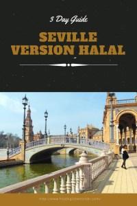 3 day guide to Seville Version Halal- Pinterest