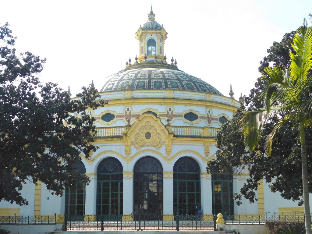 3 day halal guide to Seville- Jardines de Murillo