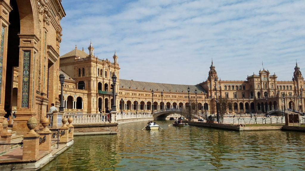 Vacation to Spain: : Movie Scene