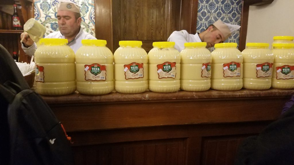 Traditional Turkish Foods: Boza