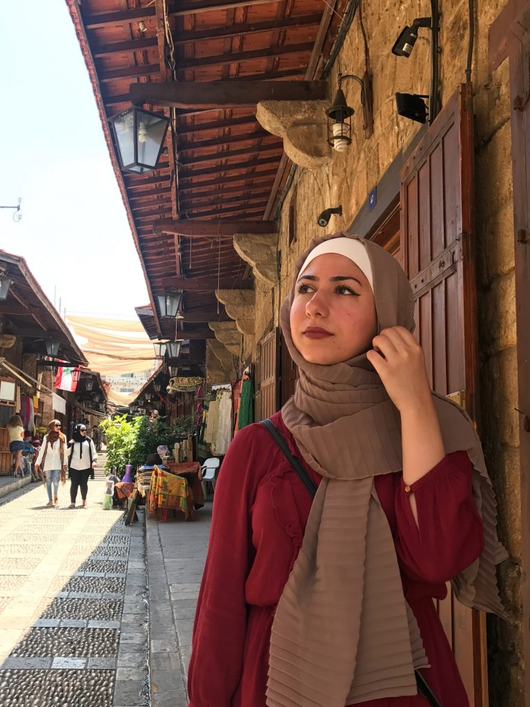 Zeina is dreaming with her Iraqi Passport