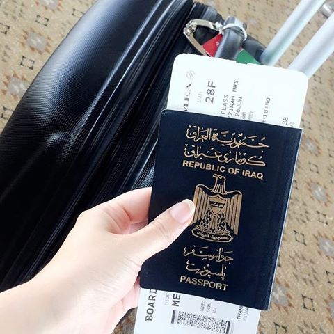 An Iraqi Passport