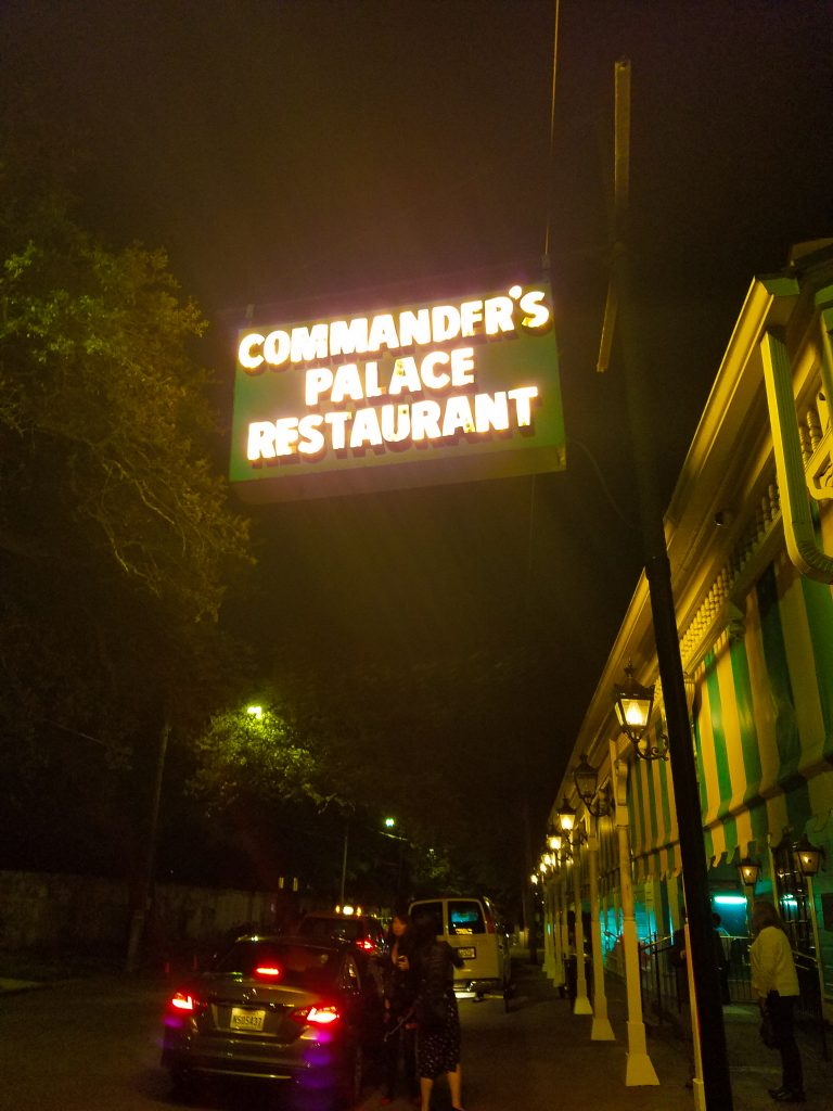 New Orleans Itinerary: Commander's Palace