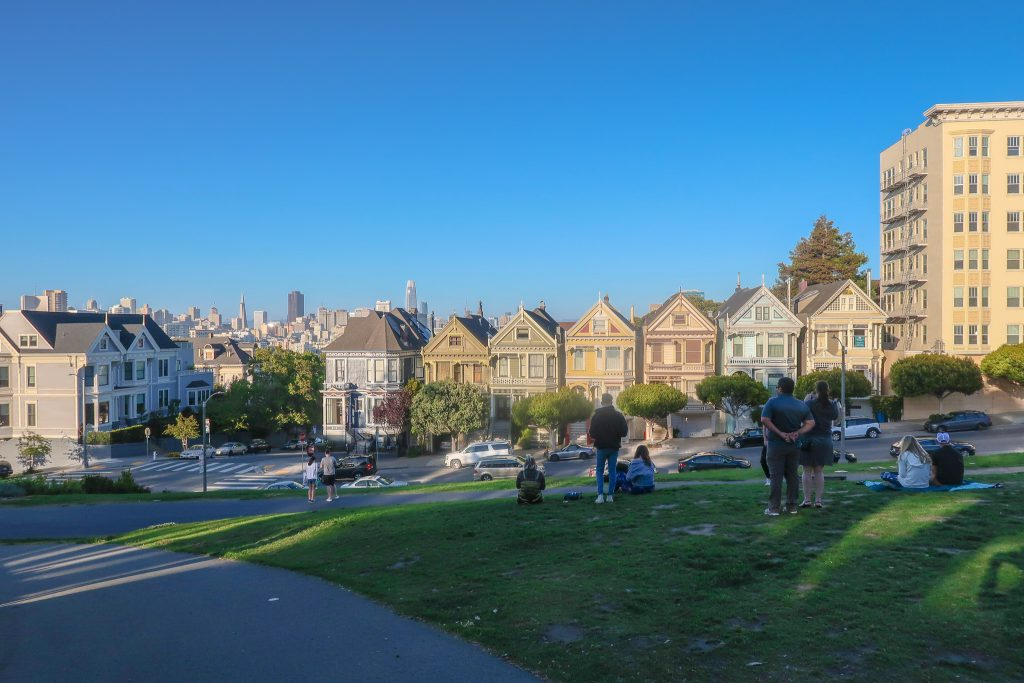 San Francisco Itinerary for 4 days: Painted Ladies