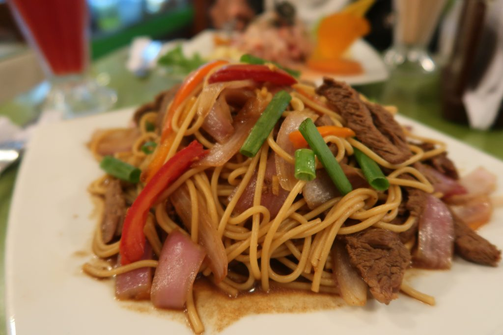 Peruvian Dishes- Lomo Saltado
