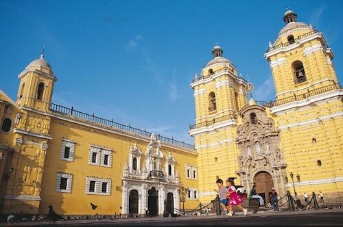 Peru Itinerary: San Francisco Monastery