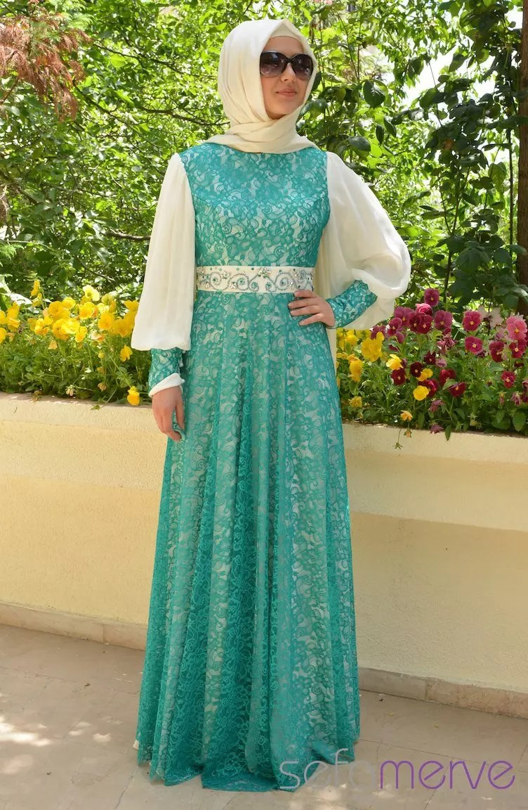 Modest And Fashionable Prom Dresses With Hijab For You