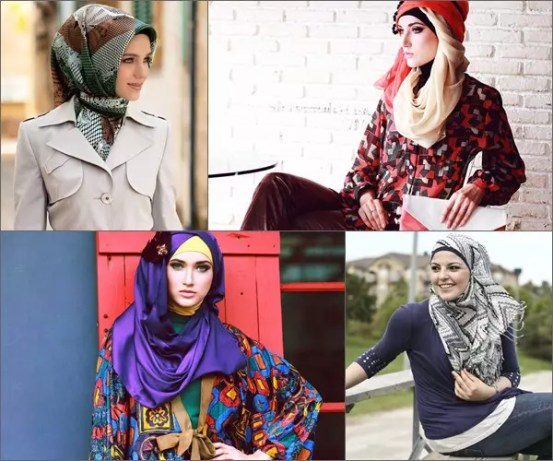 how to wear shawl hijab in different ways