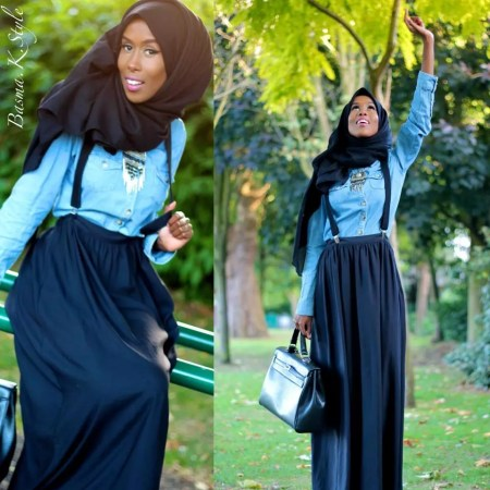 How to wear a different hijab with styles in 2016-2017
