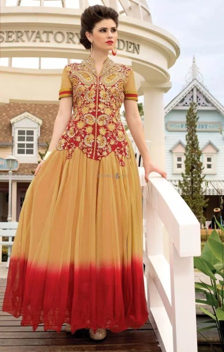 Stylish Neck Designs for Dress with Borders