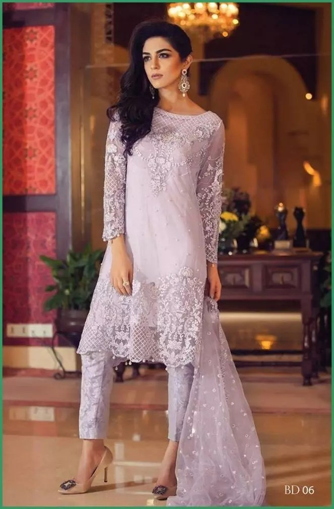 Winter Party Wear Dresses by Maria B Collection 2017-2018