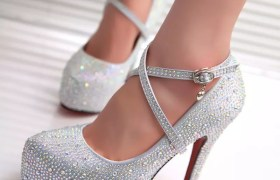new-2014-new-srrival-hot-sexy-wedding-shoes-women-red-bottom-high-heels-crystal-platforms-font