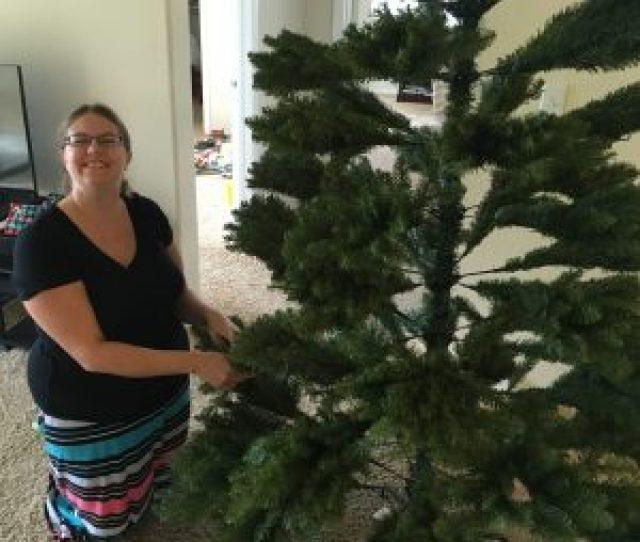 National Tree Duh  Feet Dunhill Fir Hinged Artificial Christmas Tree