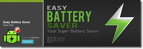 Alarga tu batería con Easy Battery Saver