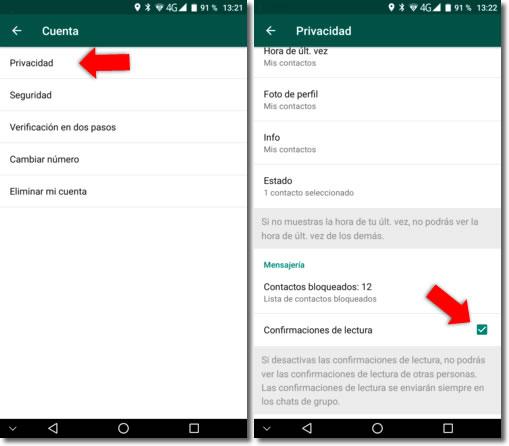 Cómo ver los estados de Whatsapp sin que aparezcan como vistos