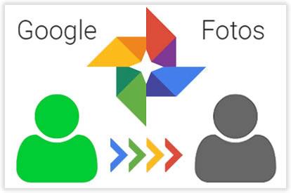 Cómo pasar todas mis fotos de Google Fotos de una cuenta a otra