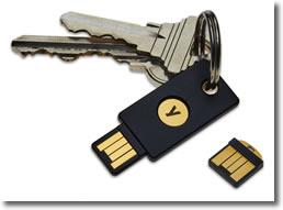 Las llaves de seguridad U2F como sistema de doble verificación