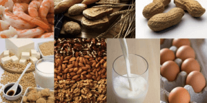 alergias alimentarias y sus reacciones