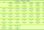 menu semanal para noviembre