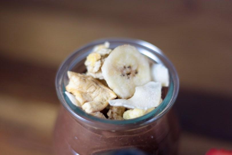 Pudin vegano de chía y cacao