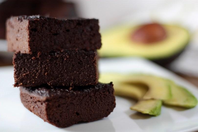 Brownie de Aguacate y chocolate puro