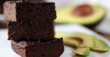 Brownie de Aguacate y chocolate puro