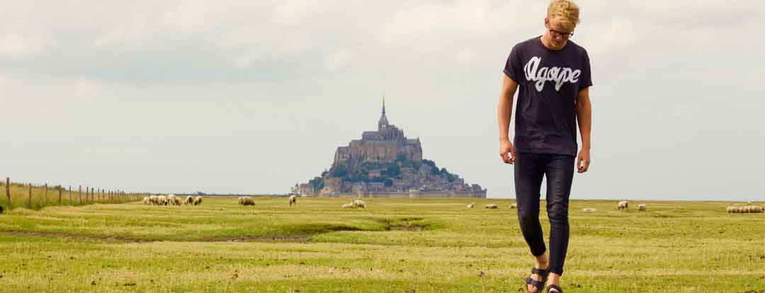 le Mont Saint-Michel, but de l'itinérance