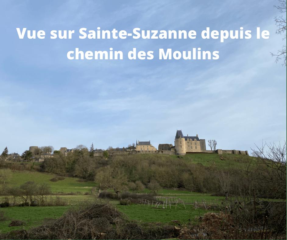 image montrant le château de Sainte-Suzanne