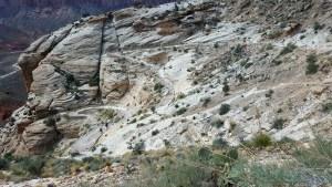 Hualapai Trail Switchbacks