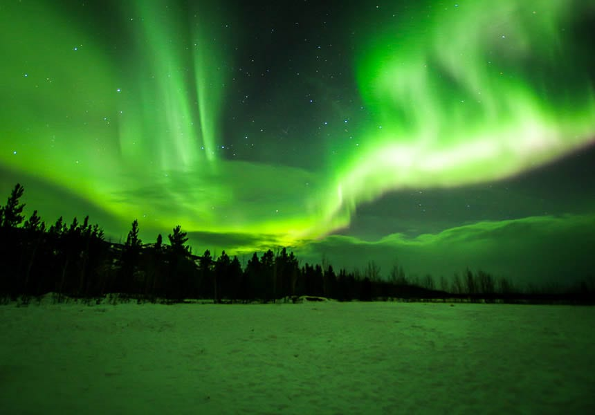Best Month See Northern Lights Alaska