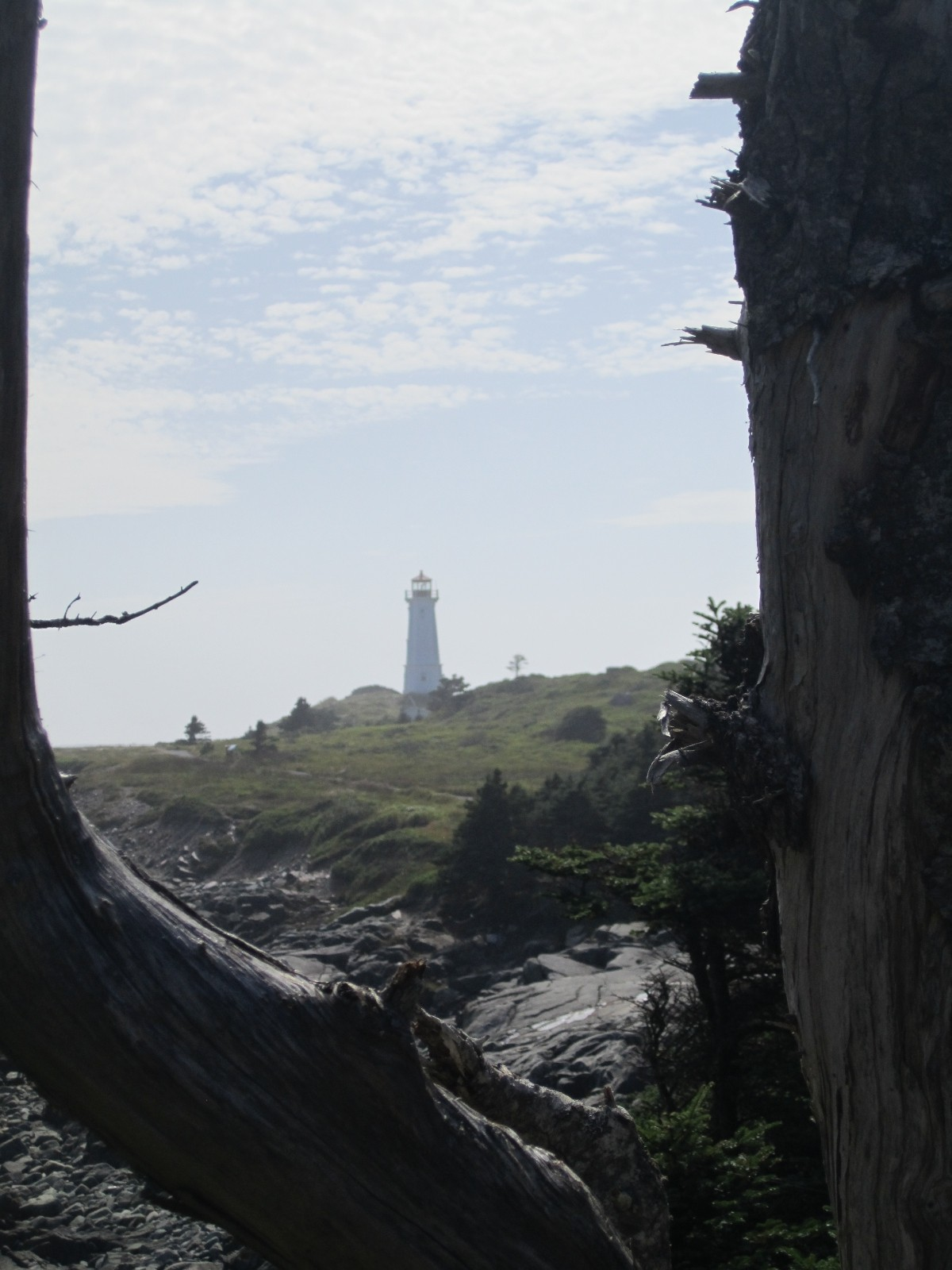 Louisbourg Lighthouse Trail Hike Cape Breton