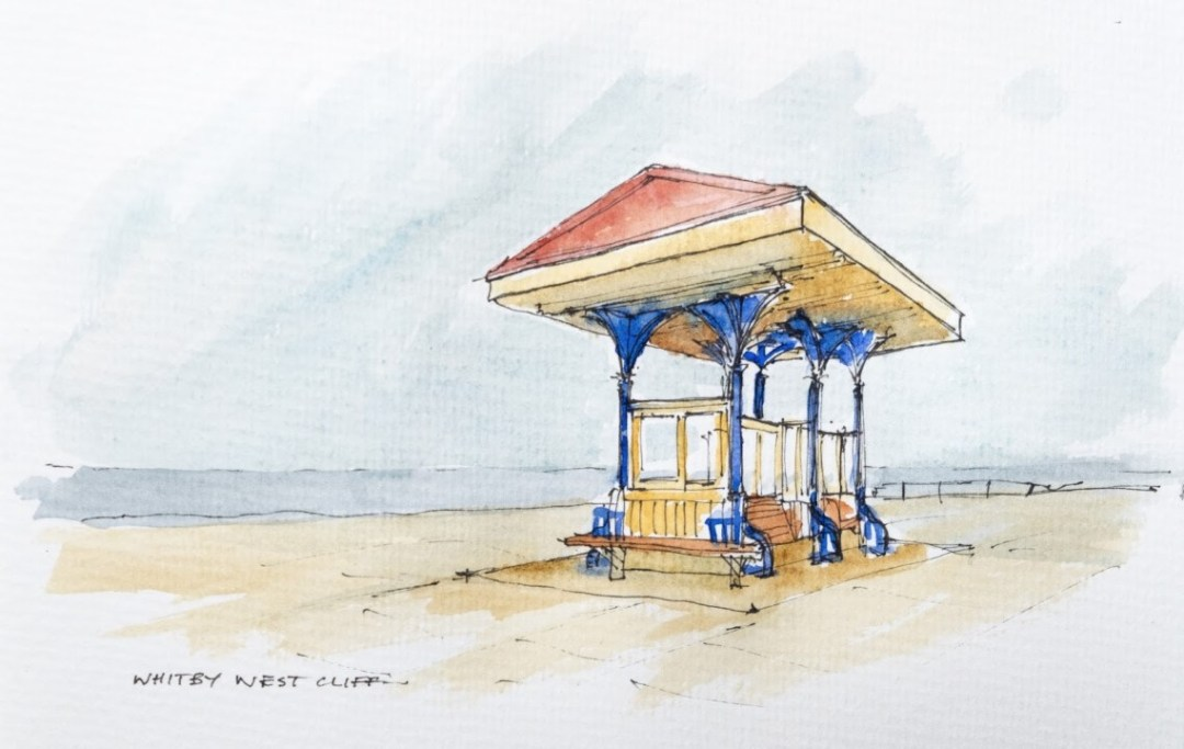 Whitby, West Cliff Promenade shelter