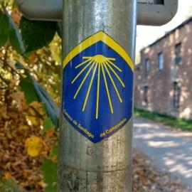 Via Monastica, één van de vijf Pelgrimspaden naar Frankrijk