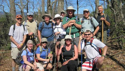 MST - CMC group on Woods Mtn