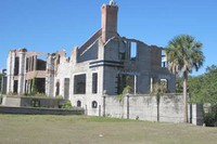 Cumberland Island - Dungeness in ruins