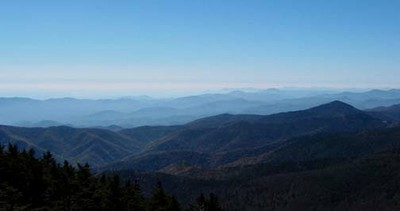 From Mt. Mitchell