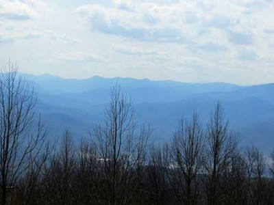 A.T. View from Rich Mountain Tower - 2013/03/18