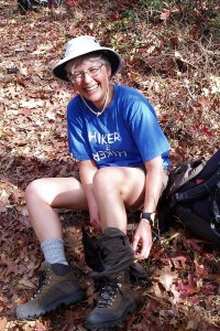 Hiking Carolina Mountains author pic - 2006