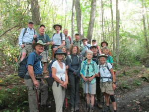 Boogerman Trail group