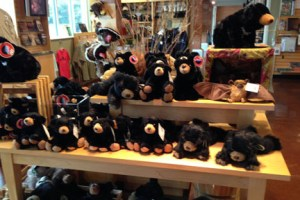 Bears at a GSMA visitor center