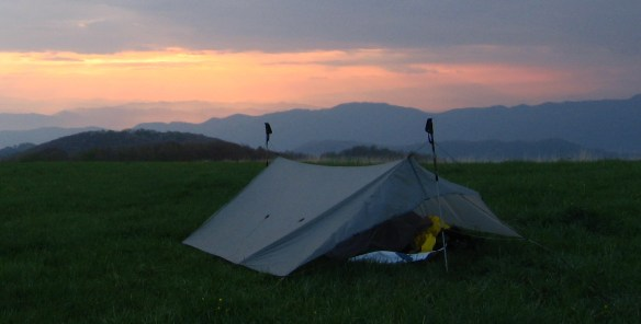 Ray Way Tarp on Max Patch.