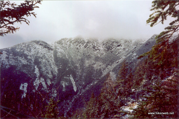 Tuckerman Ravine from Lions Head Trail