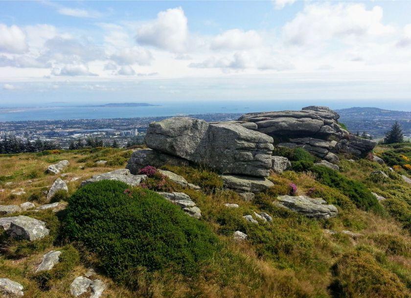 Fairy Castle Loop: Three Rock granite rocks