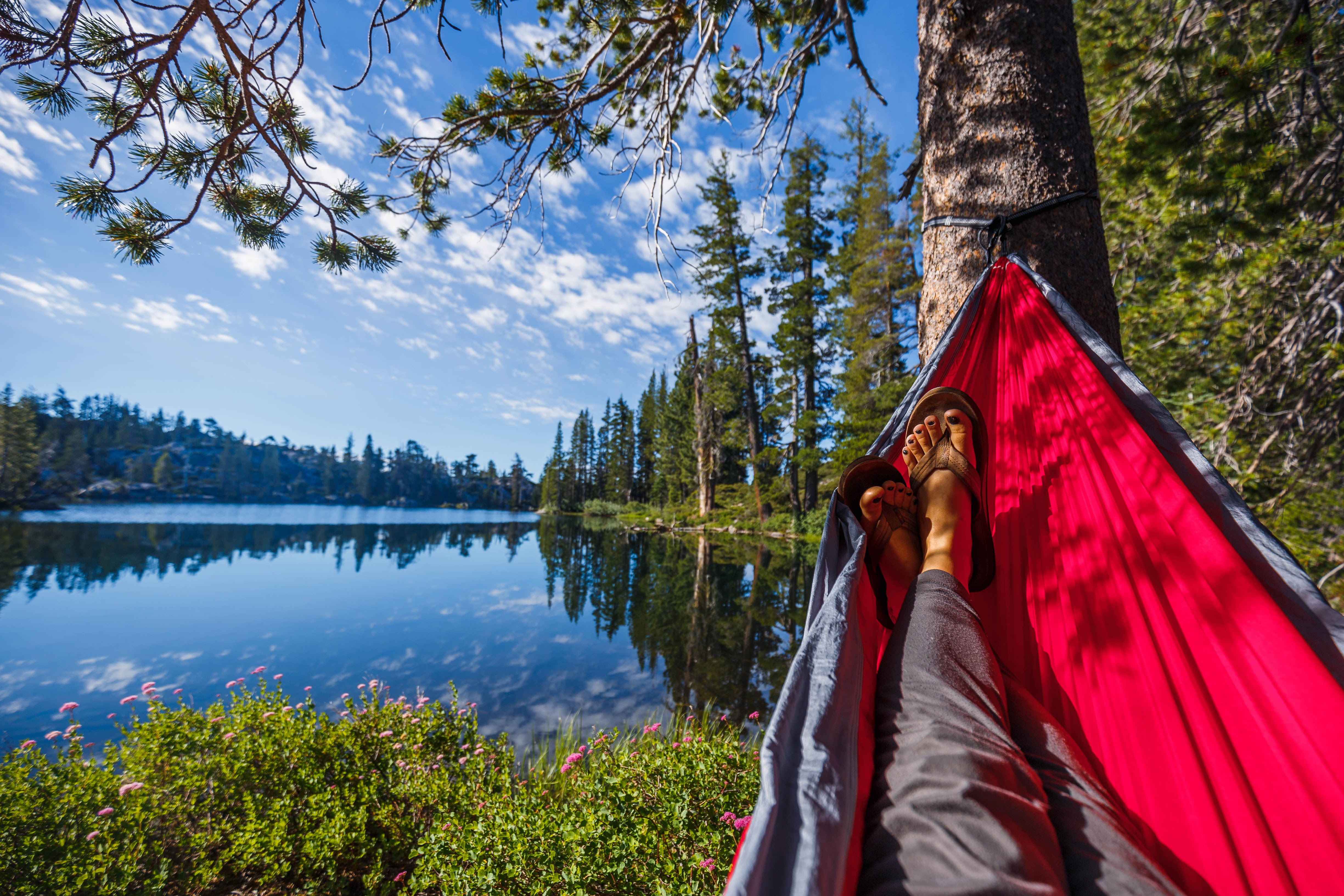 The best Lake Tahoe campsite: secret and beautiful Loch Leven