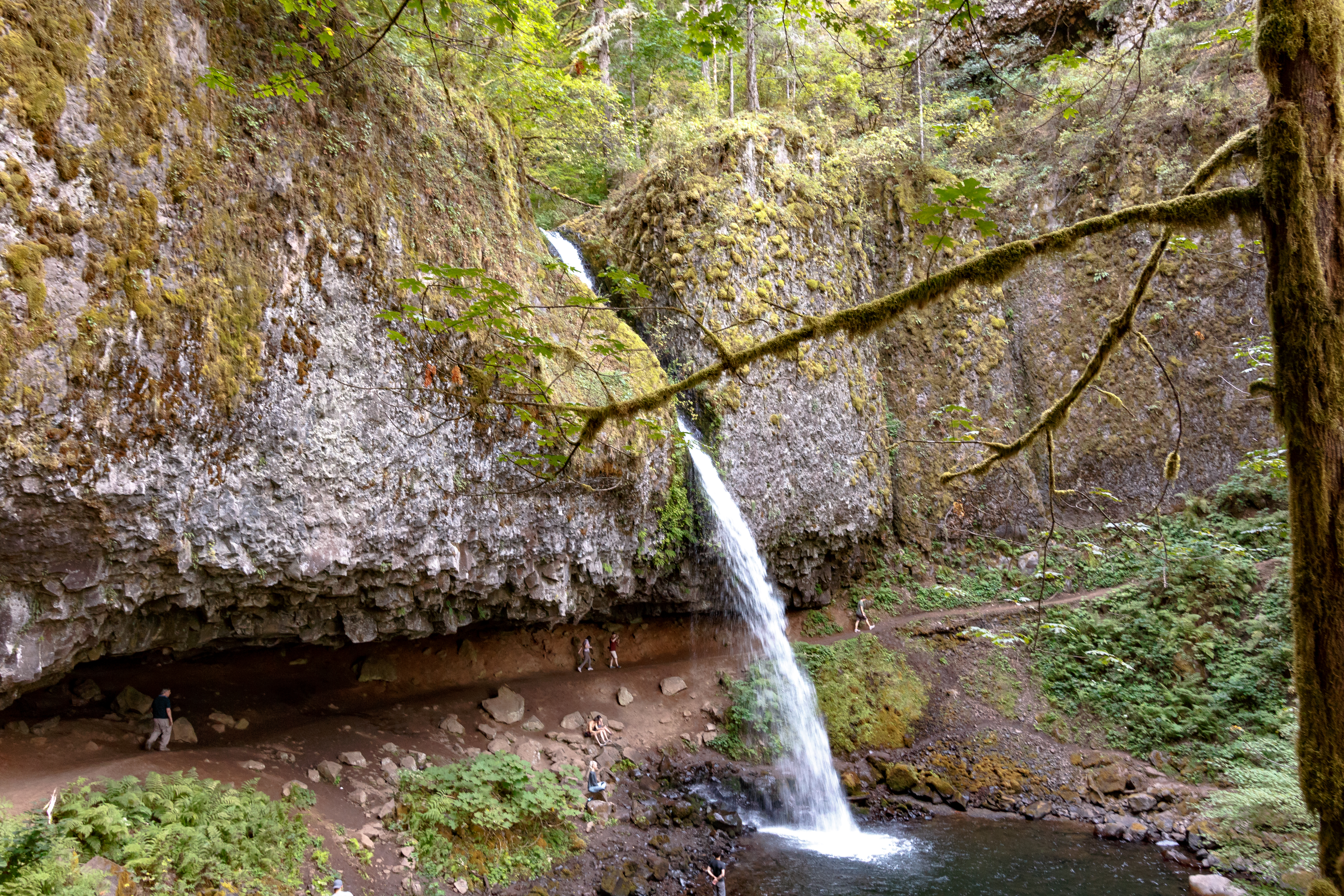 A waterfall-filled weekend: camping in northern Oregon