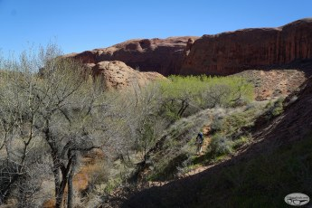 Coyote Gulch via Red Well Trailhead Day 1 , March 18 2016