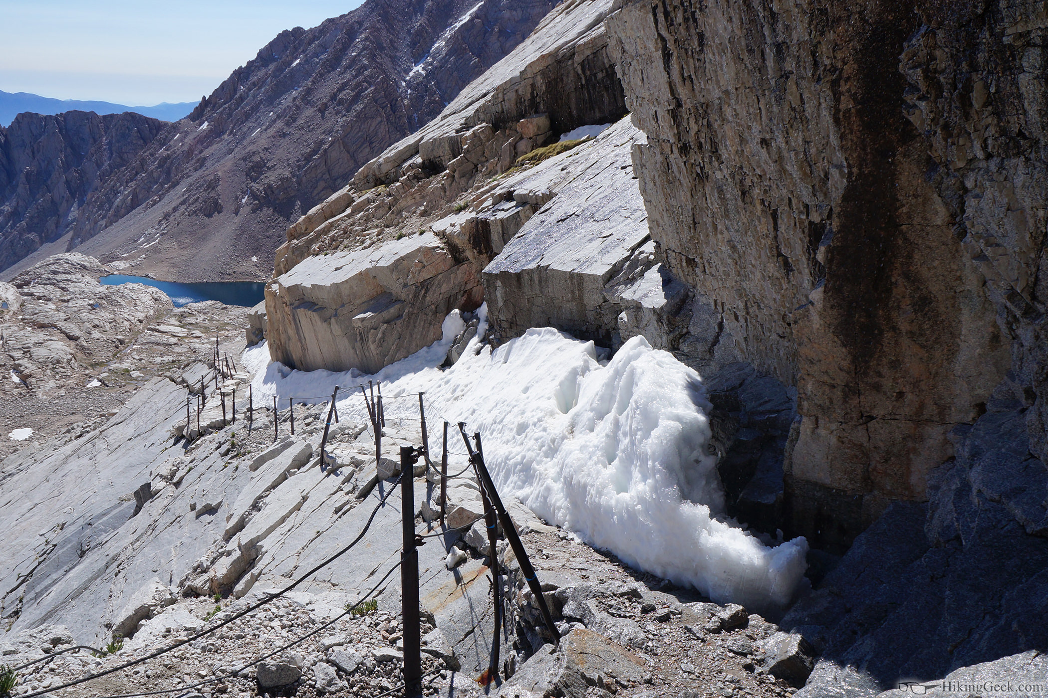 Mt. Whitney Main Trail Conditions, June 22 2015