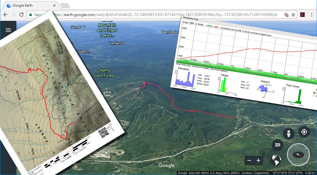 Hike in Progress: Ludlow Mountain, via Healdville Trail (August 7th)