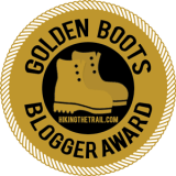 HikingTheTrail.com Golden Boots Award